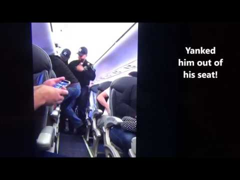 Thumbnail: United Airlines Security Dragging a Passenger Out