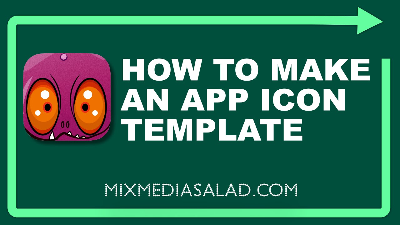 Affinity Designer- How to Create an App Icon Template - YouTube