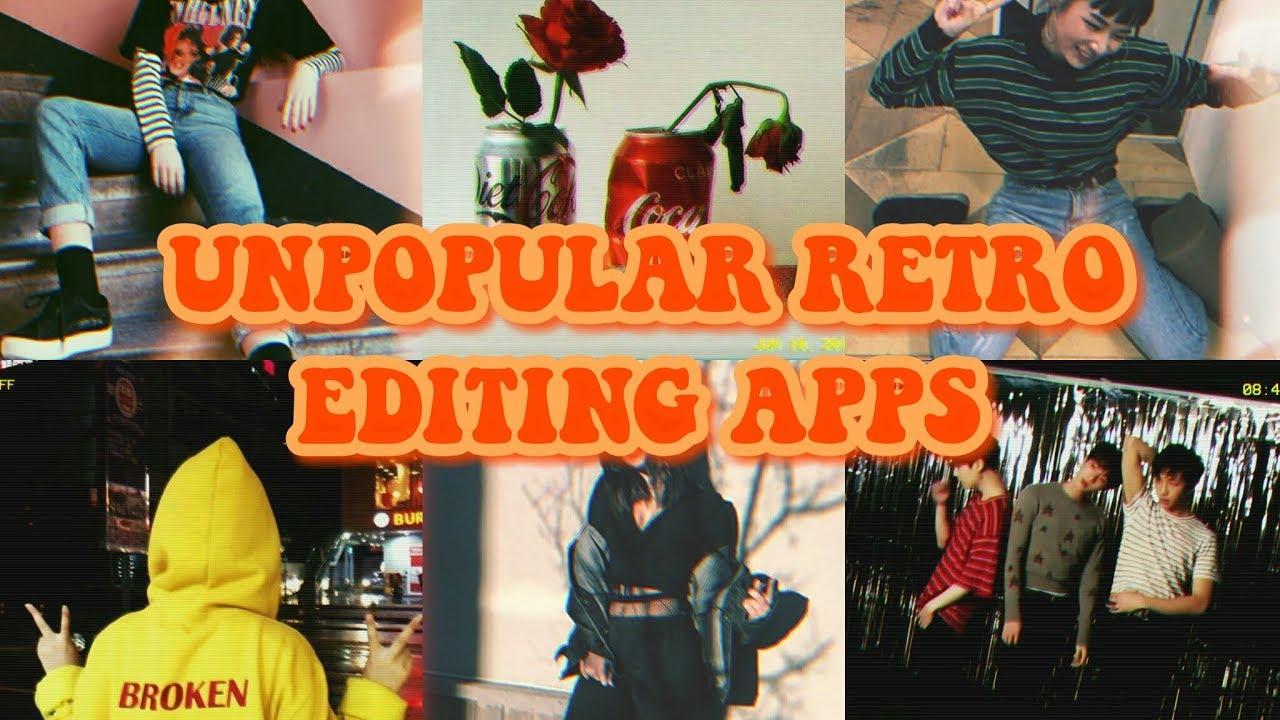 Unpopular Retro Editing Apps Ͻï½…sthetic Android Youtube