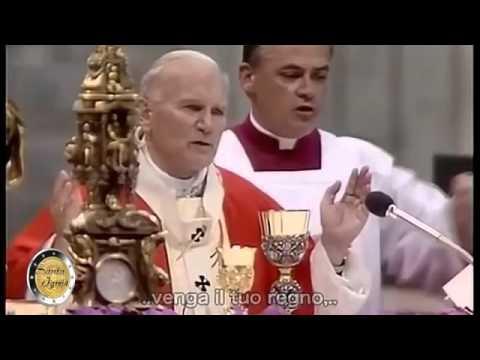 Pater Noster John Paul II   1982