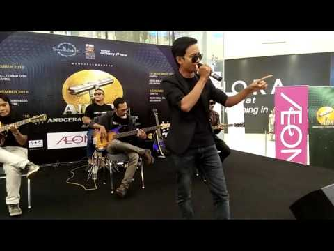 BERJUTA MAAFMU | AZARRA BAND live at showcase AIM 22 AEON MALL SHAH ALAM
