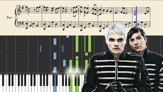My Chemical Romance - Welcome To The Black Parade - Piano Tutorial + SHEETS