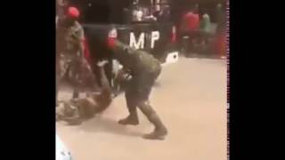 Soldiers beat up physically challenged man in Onitsha for wearing camouflage