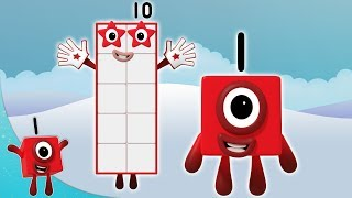 Numberblocks - Count to Ten   Learn to Count   Learning Blocks