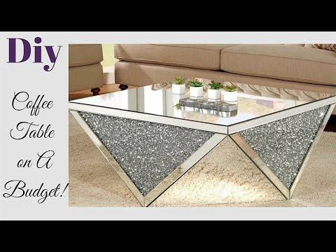 DIY LIVING ROOM COFFEE TABLE - HOW TO ACHIEVE A HIGH END LOOK FOR LESS!