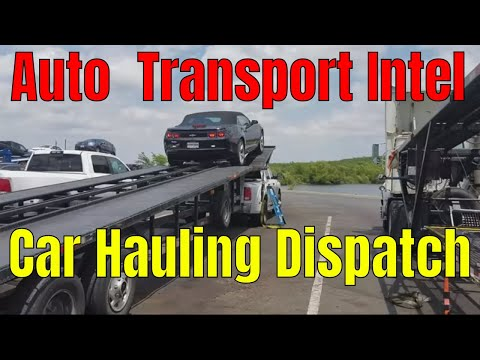 Car Hauling Dispatcher Using Load Board Central Dispatch & Cars