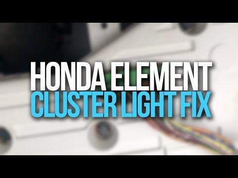 Honda Element LED Bulb Reveal And Gauge Cluster Lights Fix