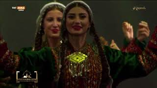 Türk Dünyası Sanatçılarından Muhteşem Gösteri \