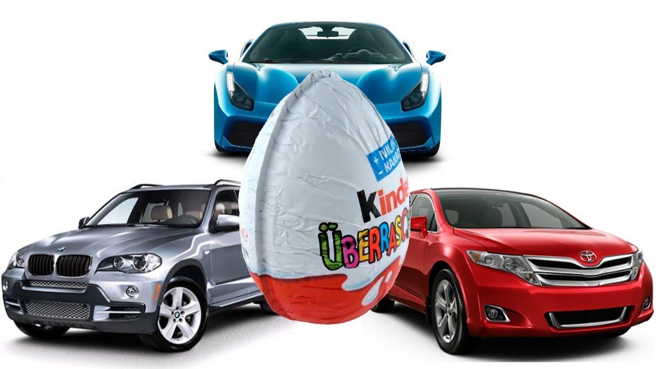 30 kinder surprise eggs mini car model. Black Bedroom Furniture Sets. Home Design Ideas