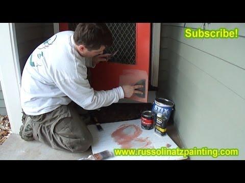 Diy Repair Door With Bondo Auto Body Filler Part 2