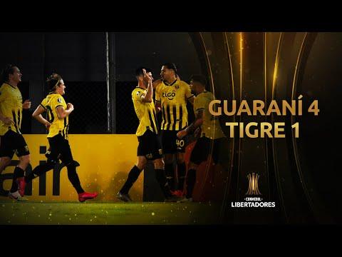 Guaraní vs. Tigre [4-1] | RESUMEN | Fase de Grupos | Jornada 3 | CONMEBOL Libertadores 2020