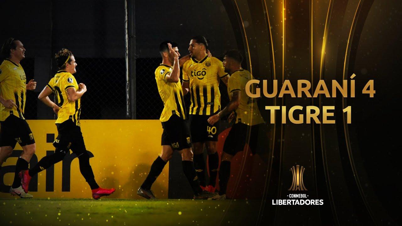 Guaraní vs. Tigre [4-1]   RESUMEN   Fase de Grupos   Jornada 3   CONMEBOL Libertadores 2020