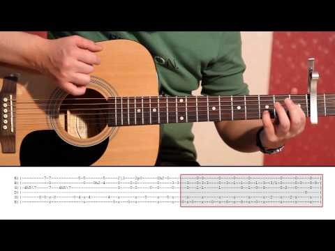 Daavka - ABBA Happy New Year (Guitar Lesson Part 2) Tutorial 2