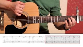 Daavka - ABBA Happy New Year (Guitar Lesson Part 2) Tutorial 2