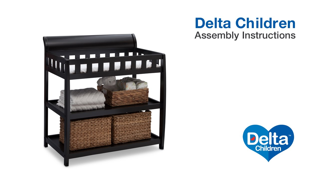 Delta Children Bentley Changing Table Embly Video