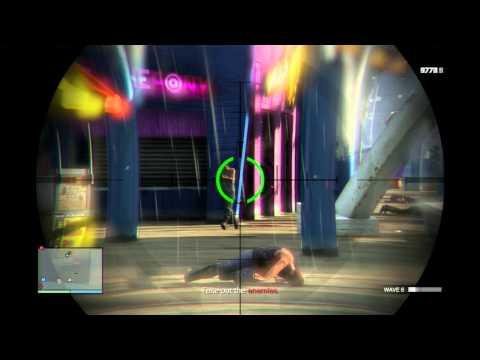GTA Online - Del Pierro Pier Survival - Surviving all 10 waves
