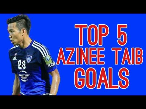 Top 5 Azinee Taib Goals