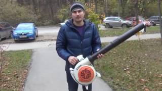 видео Бензиновая воздуходувка STIHL SH 86