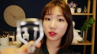 [Eng ASMR] Let's go to the party🥳 Putting a make up on you and me Roleplay