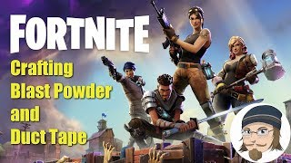 Fortnite Stw How To Farm Duct Tape Fortnite How To Make Duct Tape And Blast Powder Youtube