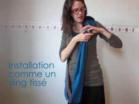 ebffa42c8be SurMonVentre vous parle de la Petite Echarpe Sans Noeud - YouTube