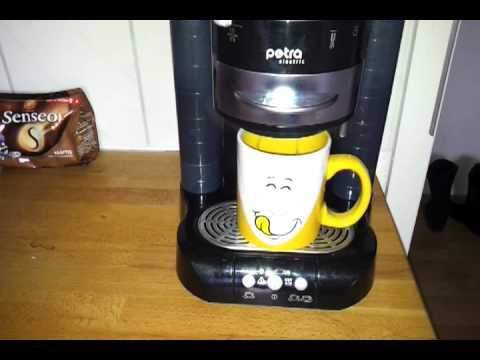 defekte petra kaffeepadmaschine youtube. Black Bedroom Furniture Sets. Home Design Ideas