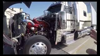 ( Vlog # 211 ) Eighteen Tires On One Sexy Peterbilt