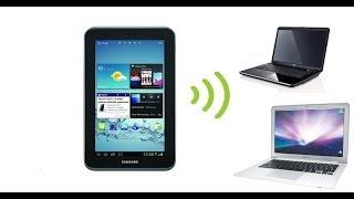 как раздать интернет со смартфотна на ноутбук по WiFi