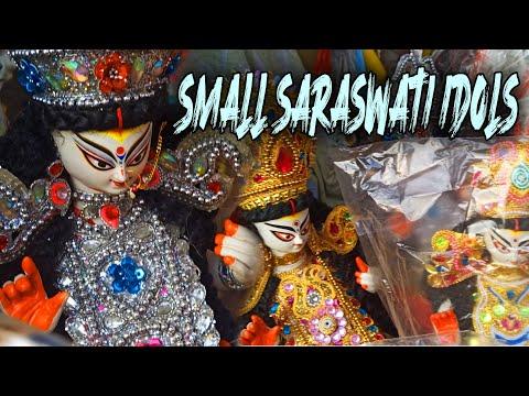 small-saraswati-idol's-ii-saraswati-puja-2021-ii-beautiful-idols-kumartuli-ii-saraswati-puja