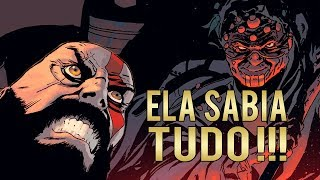 God of War 4 - HQ(Quadrinho) #2  Ela Sabia Tudo sobre Kratos !!!