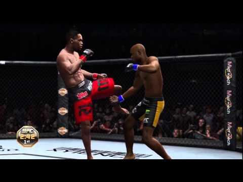 ufc 2012 PS3 Demo HD Anderson Silva submits Jon Jones