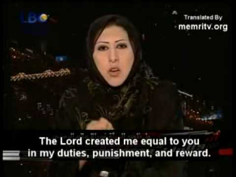 MUSLIM WOMAN TELLS THE TRUTH ABOUT CONDITION OF THE WOMEN IN ARABIA SAUDI