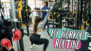 My Workout Routine!! Vlogmas Day 2