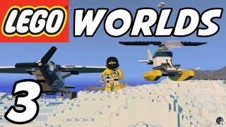 LEGO Worlds - E03 - Flying Machines! (Gameplay 1080p60)