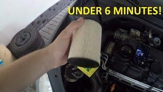 Fuel filter replacement 2.0 TDI ** Wymiana filtra paliwa 2.0 TDI
