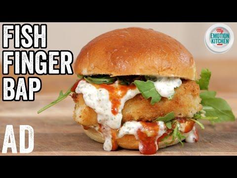 FISH FINGER SANDWICH RECIPE  | EMOTION COOKBOOK #2 CELEBRATION #ad