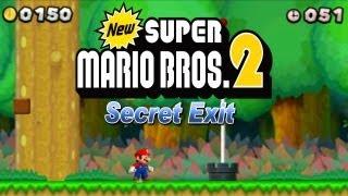 New Super Mario Bros. 2 - New Super Mario Bros. 2 Coin Rush Mode 4. DLC Golden Mushroom Pack (Secret Exit)