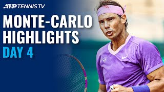 Nadal, Djokovic & Zverev Take Centre Stage | Monte Carlo 2021 Highlights Day 4