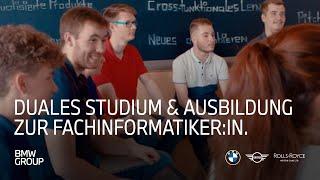 Duales Studium & Ausbildung Fachinformatiker (w/m/x) für Anwendungsentwicklung | BMW Group Careers.