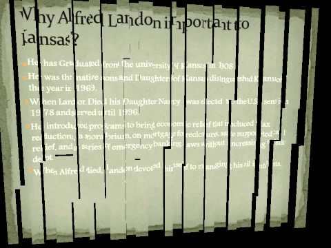 "Alfred ""Alf""  Landon"