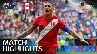 Australia v Peru - 2018 FIFA World Cup Russia™ - Match 38