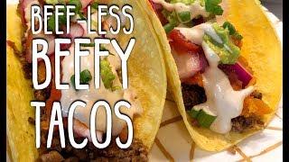 Vegan Beefy Tacos | How to make easy Vegan Ground Beef