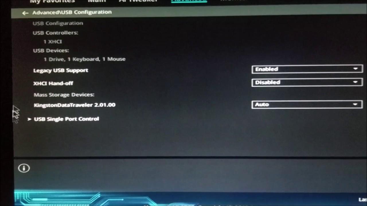 BIOS Modification before macOS Sierra/High Sierra installation Skylake