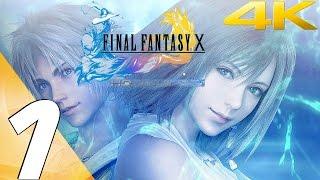 Final Fantasy X HD Remaster PC - Walkthrough Part 1 - Prologue [4K UHD]