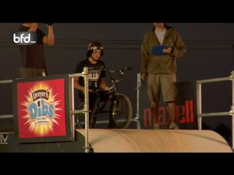 Sean Logan vs. Chris Hughes BMX Big-Air Quarterfinal: Costa Mesa