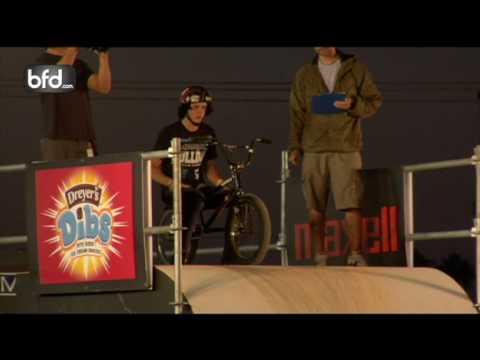 Sean Logan vs. Chris Hughes BMX Big-Air Quarterfinal: Costa Mesa