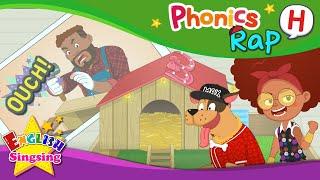 Phonics Rap H - English Rap - Educational video for Kids