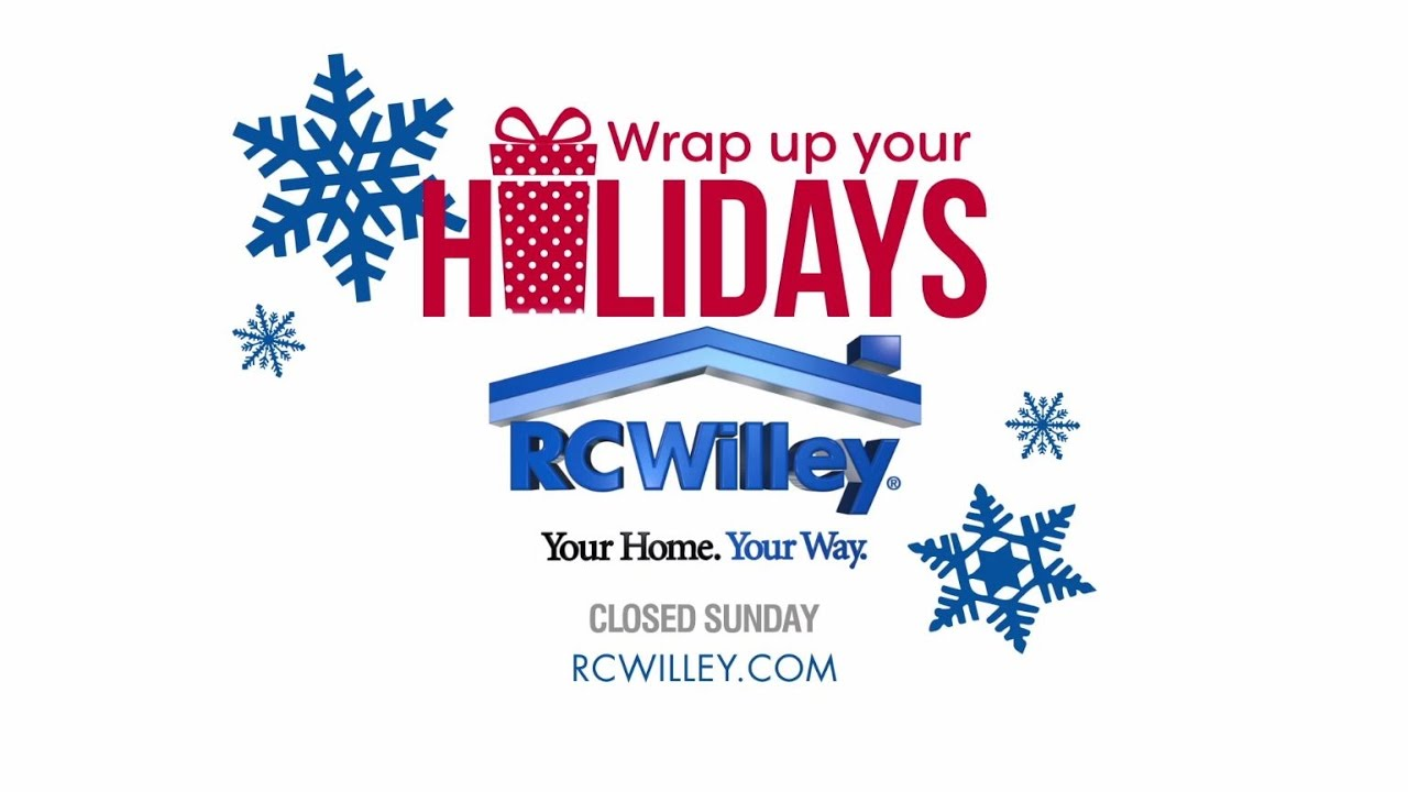 Wrap Up Your Holidays With RC Willey