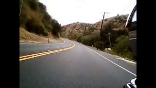 a ride on hwy 142 carbon canyon brea ca