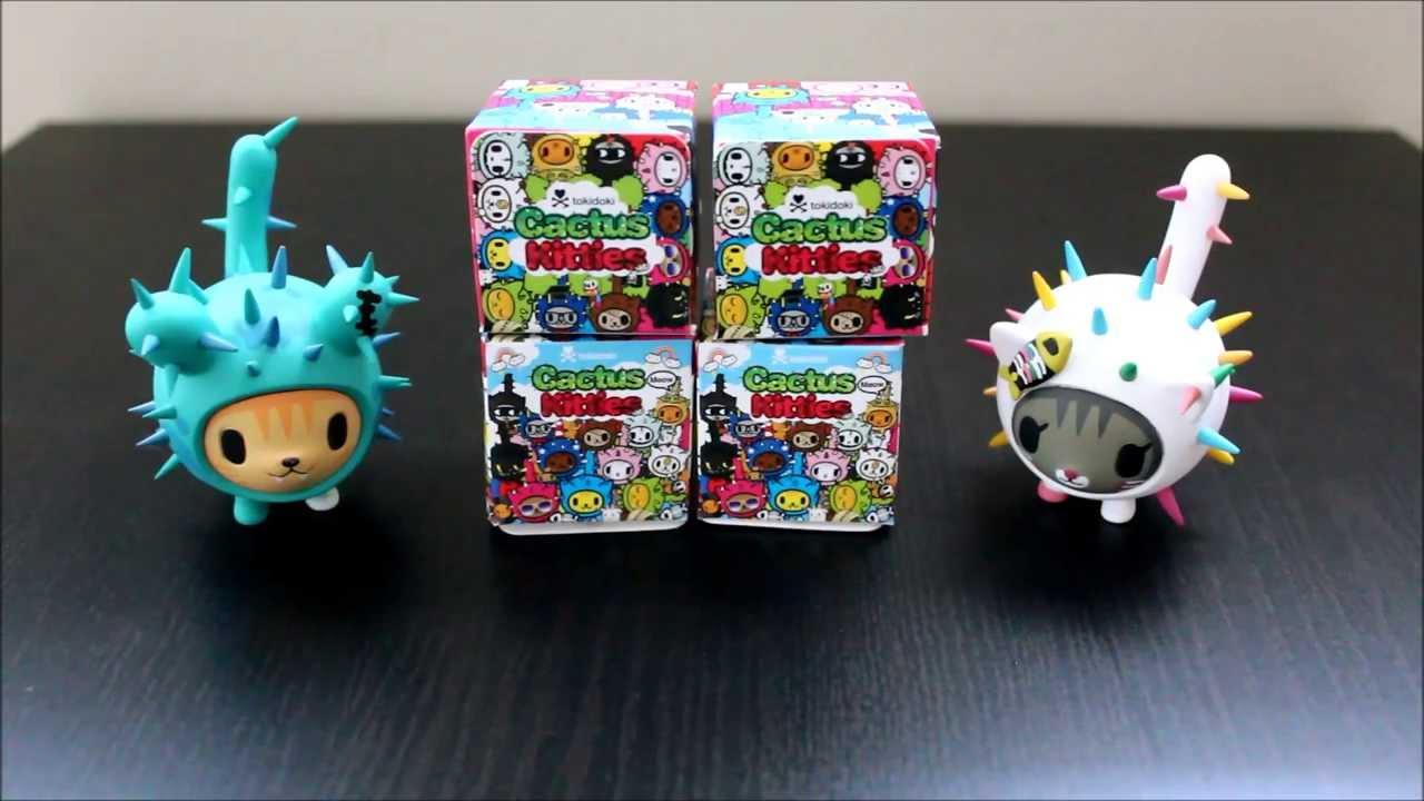 Tokidoki Cactus Kitties Blindboxes - Unboxing and Review ...  Tokidoki Cactus...